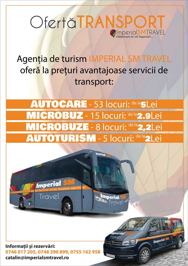 Ofertă Transport Imperial SM Travel SRL